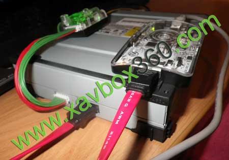 flash lecteur xbox360