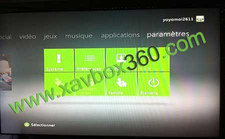 menu xbox360