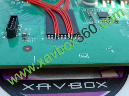 soudure sur nand xbox360