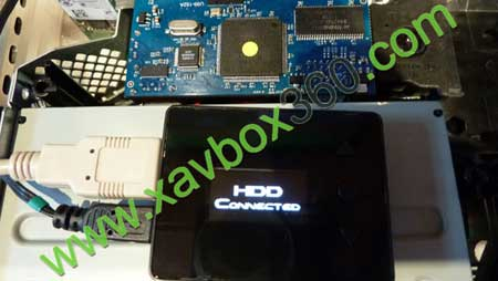 disque dur sur xbox 360