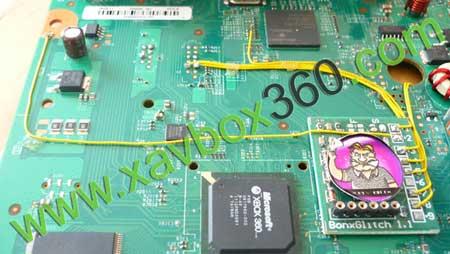 soudure puce xbox360