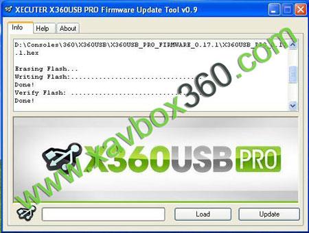 update x360usb pro