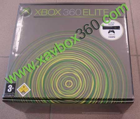 boite xbox 360 elite