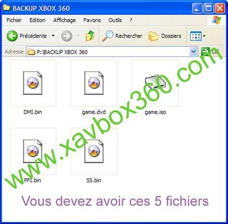 backup xbox 360